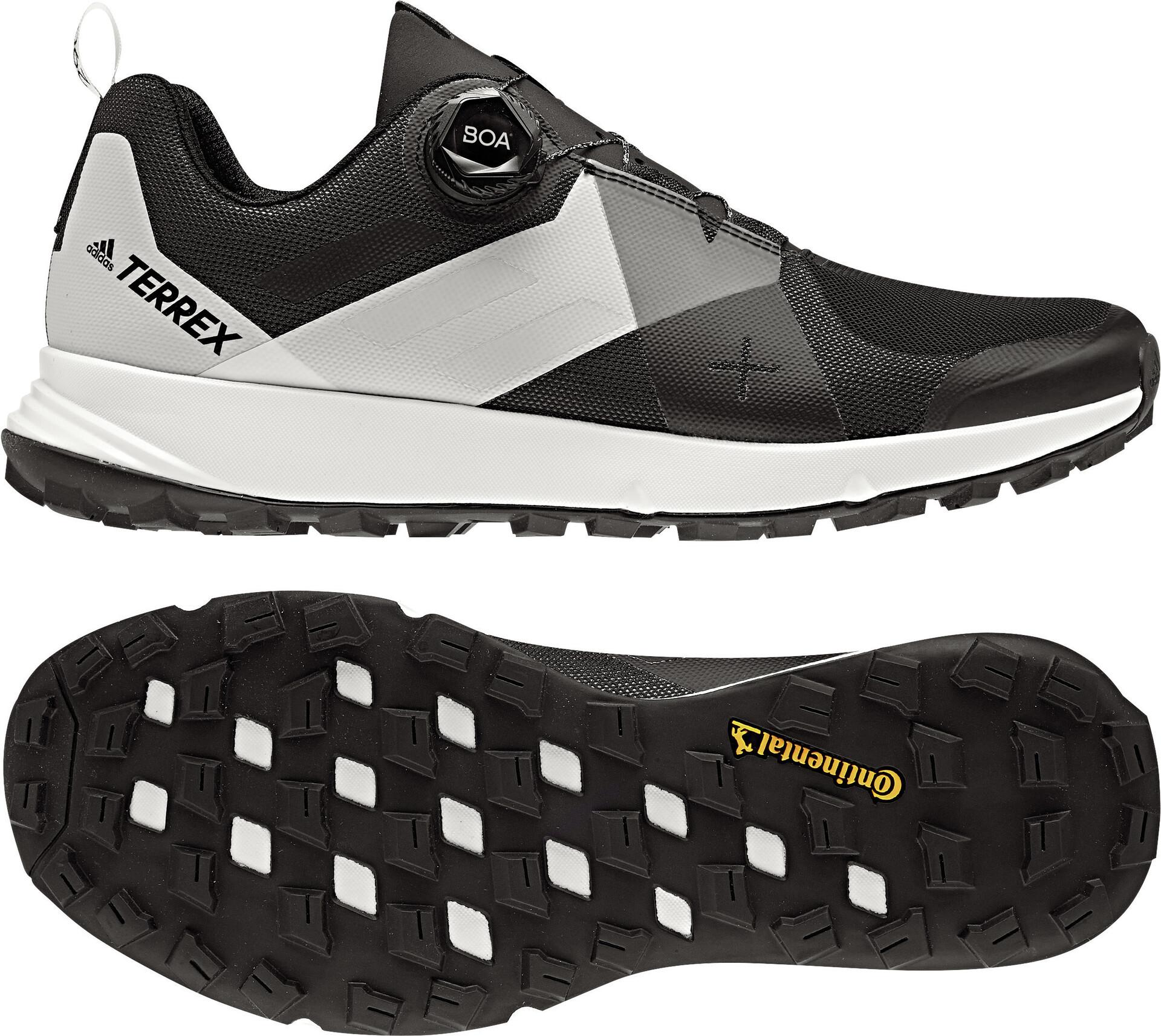 adidas TERREX Two Boa Chaussures de trail Homme, core blackgrey fourftwr white